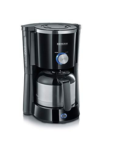 Severin KA 4835 Cafetera de filtro Type, 1000 W, Negro