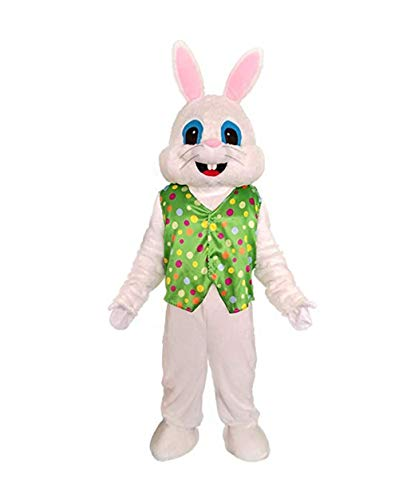 Mascot Costume Sale (Hot Easter Bunny Adult Costume Rabbit Halloween Mascot Costume Fancy)