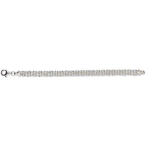 SF Bijoux - Bracelet argent 925/1000e maille royale (20 cm - 14 g) - (401670-20)
