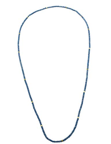 (STAR BY QUEEN Bead Necklace for Fashion Women Girl Choker Chain Long Chain Handmade 31 Inch)