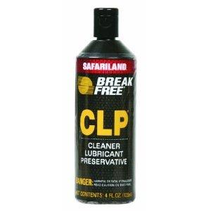 Break-Free CLP-4 Cleaner Lubricant Preservative Squeeze Bottle (4 -Fluid Ounce), Outdoor Stuffs