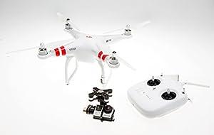 DJI Phantom 2 Quadcopter V2.0 Bundle, 3-Axis Zenmuse H4-3D Gimbal GoPro Hero 4 Black (White) from Beyond Solutions