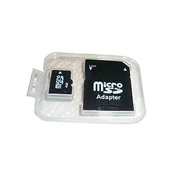 tarjeta SD de 4 GB con adaptador Micro: Amazon.es: Electrónica