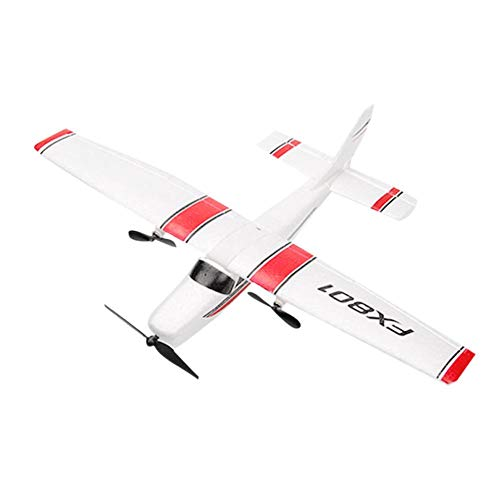 Amazingdeal Model Airplanes Kits to Build Kids Drop-Resistant Fixed-Wing Rc Glider Assembling Child Airplane Model Toys
