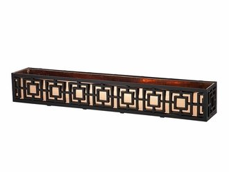 Window Box with Real Copper Liner Cage: 61