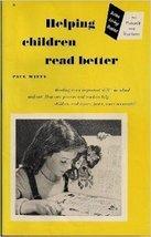 Helping children read better; (Better living booklet)