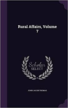 Rural Affairs, Volume 7