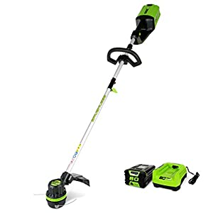 Greenworks PRO 16″ 80V Cordless String Trimmer (Attachment Capable), Battery Not Included GST80320