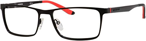 Carrera 8811 Eyeglass Frames CA8811-0003-5517 - Matte Black Frame, Lens Diameter 55mm, Distance