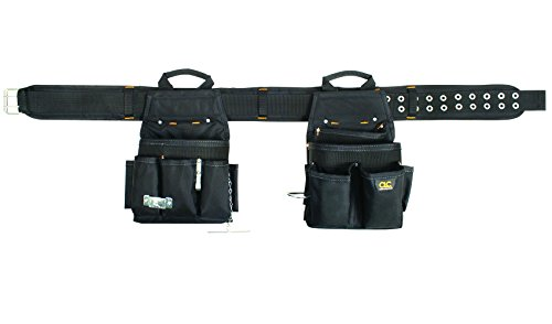 CLC Custom Leathercraft 5609 20 Pocket / 3 Piece Electrical Combo