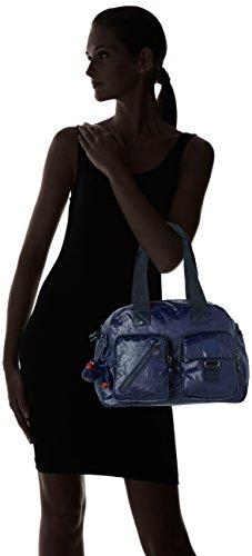 Indigo de Hombro Kipling Lacquer Azul Defea Mujer Bolso UqT0cRp