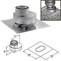 (DV chimney liner termination kit-4