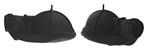 Black Matt 2 Piece Set of 2 Candellana Candles 5903104805920 Mining Helmet