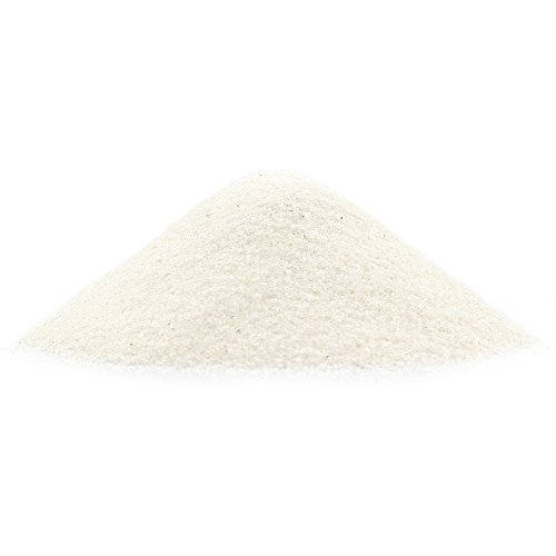 NW Wholesaler - 1 lb Bright Fine Floral Sand for Vases, Planters and Pots, Terrariums, Aquariums, Fairy Garden, and Arts & Crafts (Sparkling White)