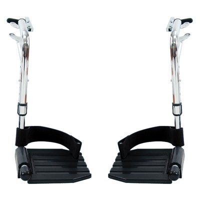 Swingaway Wheelchair Footrest Material: Composite Wheelchair Footrest