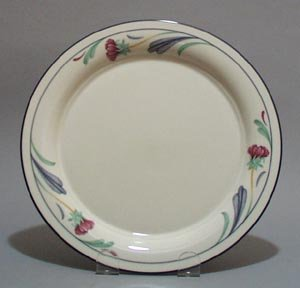 Poppies on Blue Salad /After Dinner / Dessert Plate by Lenox (Poppies On Blue Dinnerware)
