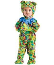 Tie Dye Bear Baby Costume