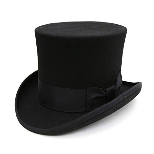 Ferrecci L Premium Black Top Hat