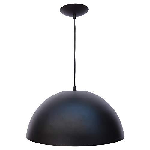 Combo Kit de 3 Pendentes Luminárias Soft Cone Alumínio 18cm Vermelho e Branco E27 110V/220V (Bivolt) Teto Interno Quarto Sala Cozinha