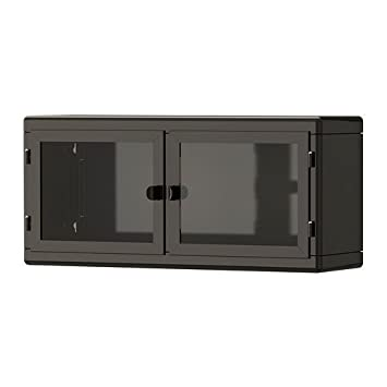 Wonderful IKEA RASKOG   Wall Cabinet, Dark Grey, Glass   60x27 Cm
