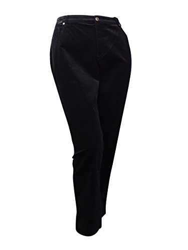 5 Pocket Corduroy Pants (Charter Club Petite 5-Pocket Corduroy Pants, Deep Black (2P Short))