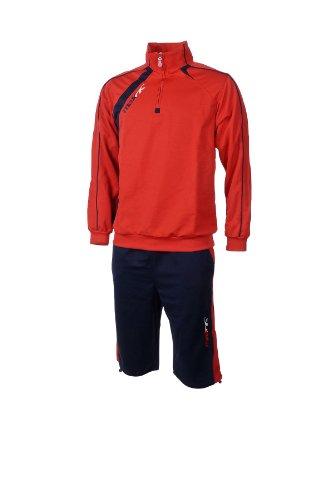 Max Anzug Serbien rot blau Sport Basic Anzüge