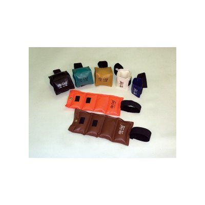the Cuff: The Original Cuff Ankle and Wrist Weight, Economy Set (20 Pieces), with Rack