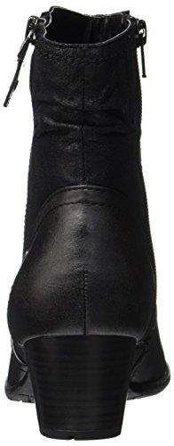 Softline Damen 25370 Stiefel Schwarz (Black)