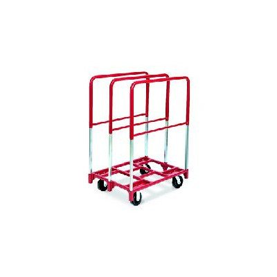 Raymond 3829 Steel Panel Mover with 3 Extra Tall Upright and 8