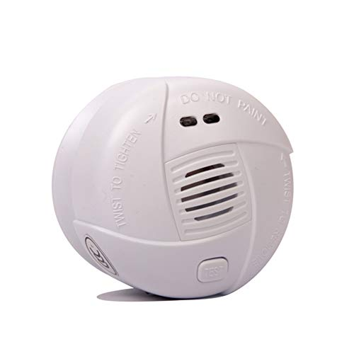 OJKK Smoke Detector, CO Monoxide Alarm Fire Detector/Battery Operated/Universal Security/Photoelectric Sensing Instruments/Protect Your Home from Fire and Gas Leaks