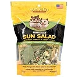 Vitakraft Vita Prima Sun Salad Treat for Dwarf Hamsters 8 oz. by Sunseed Company