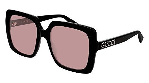 Sunglasses Gucci GG 0418 S- 002 BLACK/PINK (Gucci Sunglasses)