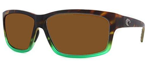 Costa Del Mar Cut 580G Cut, Matte Tortuga Fade Copper, - Costa Cut 580g