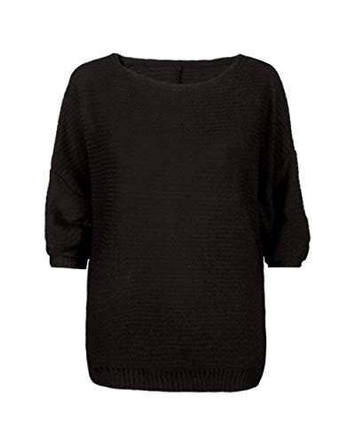 Col Longues Large Femme Pulli Manches Pullover El Rond I8gx6Zqwa