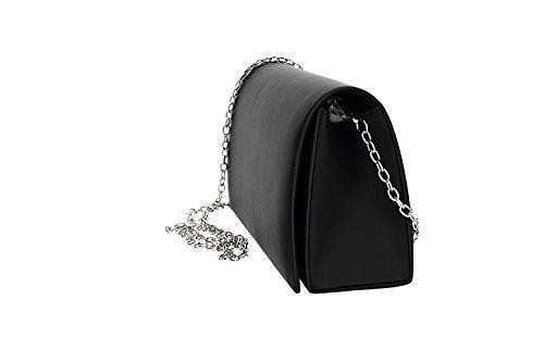 ouverture MOON femme cérémonie élégant bouton noir Pochette MICHELLE de VN2323 Axq0dxwp