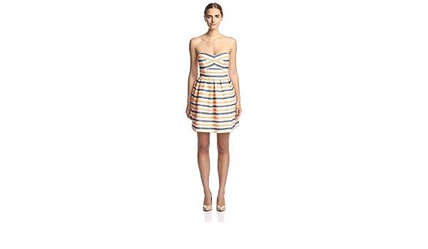 8d52358e81011 Amazon.com: Hutch Women's Strapless Fit & Flare Dress: Clothing