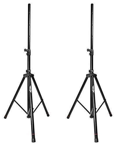 (Epic Pair EPS200 Heavy Duty Adjustable 6 Foot Tripod DJ PA Pro Speaker Stands)