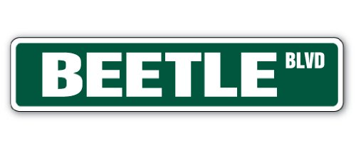 beetle-street-sign-bug-insect-brown-fly-signs-gift