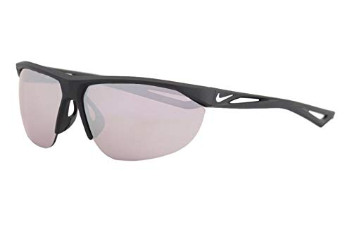 Nike EV0983-011 Tailwind Swift R Sunglasses (Frame Speed Tint with ML Extra White Lens), Matte Black/White ()