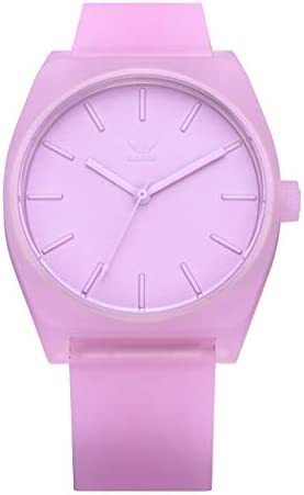 Adidas Watches Process_SP1. Silicone Strap, 20mm Width (Clear Lilac. 38 mm).