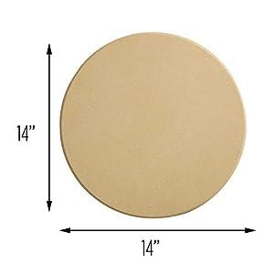 Honey-Can-Do KCH-08410 Pizza Stone, 14″