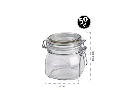 Mäser, Serie Gothika, Einmachglas 500 ml, Vorratsgläser mit ...