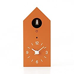 Muji Cuckoo Clock Orange Limited Edition - Size - 95x108x204mm