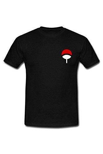 Naruto shirt Clan Noir T Uchiwa IFxSpIT