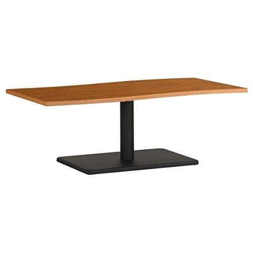 arne ローテーブル 木製 おしゃれ センターテーブル 幅120 奥行60 高さ42 日本製 デザインテーブル River12060L 北欧×BK B0785PL17P 高さ:42cm/天板サイズ:120×60|北欧×BK 北欧×BK 高さ:42cm/天板サイズ:120×60