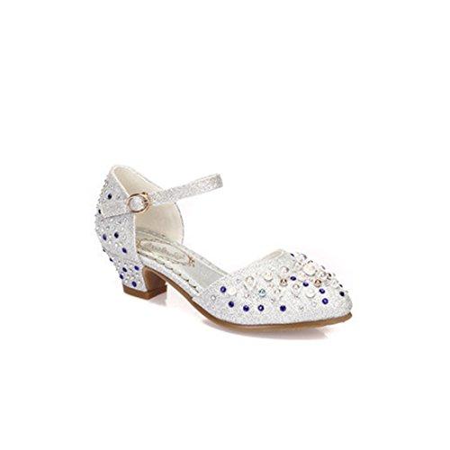 Little Girl's High Heel Wedding Dancing Party Dress Shoes by YANGXING