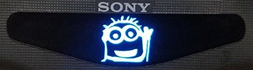 MightyStickers® PS4 Designer Controller LED Light Bar Decal Vinyl Stickers Playstation 4 B Despicable Me 2 Movie Fan - Bye Bye Minion Tomy (1pc) (Despicable Me Game Playstation)