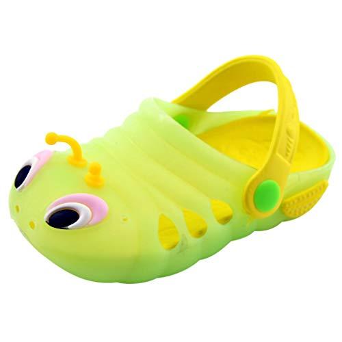 9Month-5Years Summer Toddler Baby Boys Girls Cute Cartoon Beach Sandals Slippers Flip Shoes Green]()