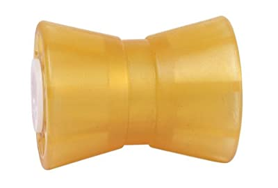"""Tie Down 86158 Amber 5"""" PVC Guided Keel Roller"""