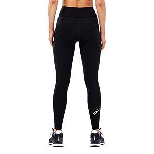 2XU Women's Fitness Hi-Rise Compression Tights (Black/Black, Extra Small)